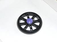Колеса для колясок и тележек 120 мм (черные), фото 1