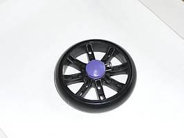 Колеса для колясок и тележек 120 мм (черные)