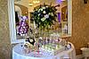 Свадебный Кенди бар в лилово-яблочном цвете  (под ключ) на 30 чел