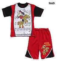 """Летний костюм """"Ковбой"""" для мальчика. 1-2 года"""