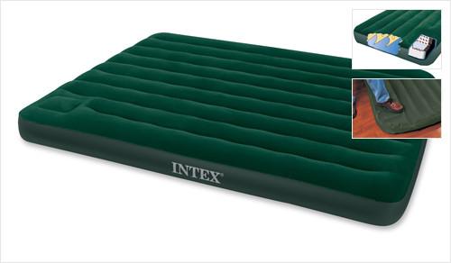 Кровать-матрас Intex 66929 туристическая двуспальная  (152х203х22 см.), фото 1