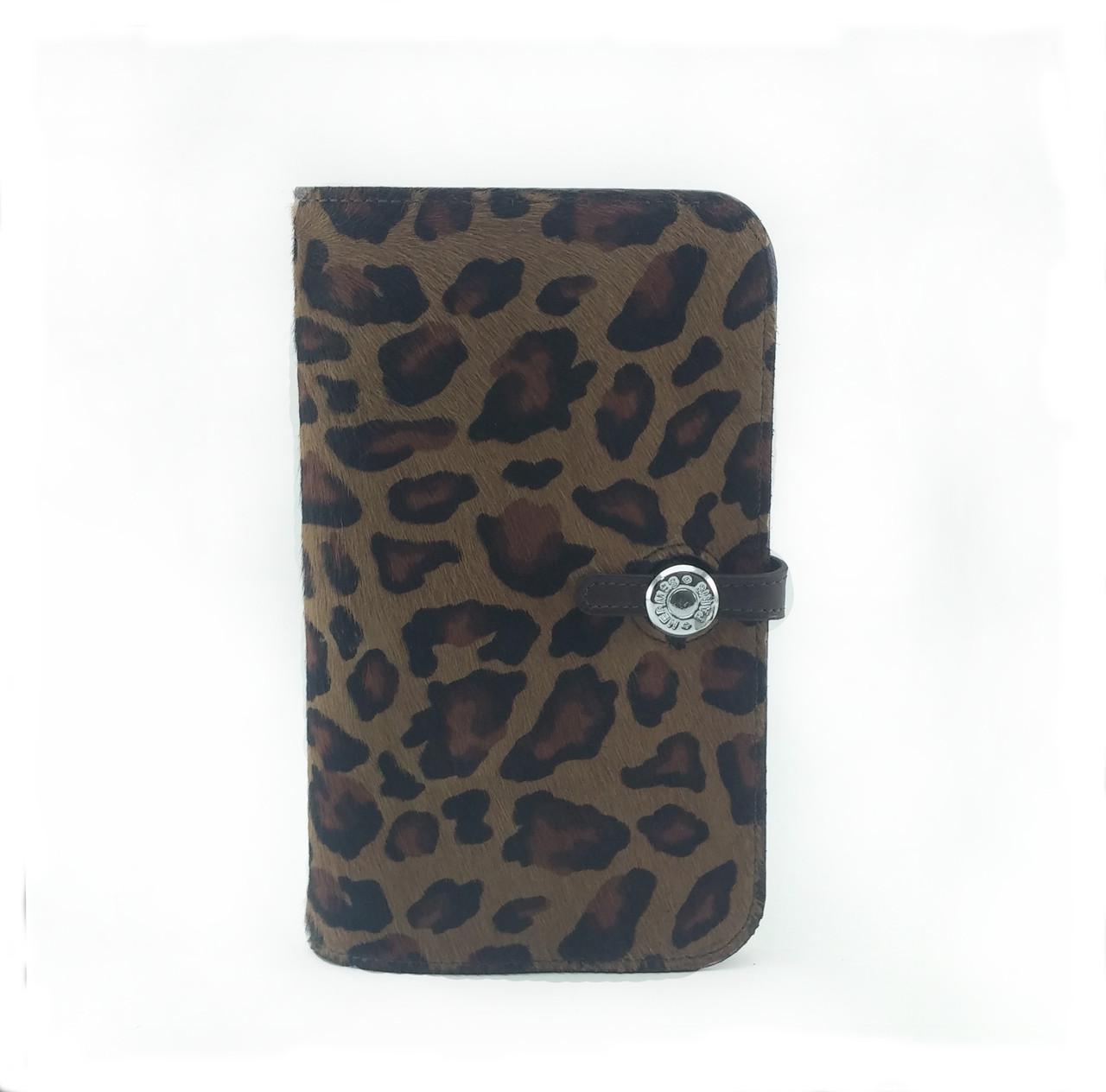 Кошелек кредитница  леопард