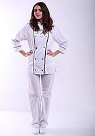 Поварской костюм белый