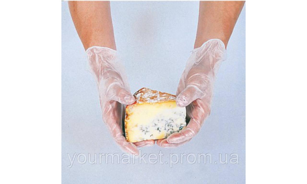 Перчатки виниловые Garcia de Pou 100 шт. белые 15561