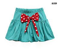 Летняя юбка для девочки. 1-2;  3-4 года