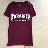 Футболка Thrasher женская. Бирки оригинальные