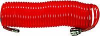 Шланг спиральный  воздушный, 5 м, с быстросъемными соединителями// MTX