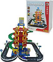Игровой набор Полесье Паркинг 5-уровневый с дорогой и автомобилями (38104)