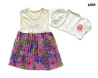 Летнее платье и болеро для девочки. 3 года, фото 1
