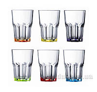 Набор стаканов Luminarc Брайт Колорс Новая Америка 6х350 мл J8932/1 высокий