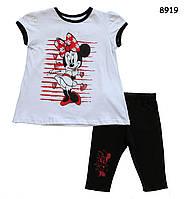 Летний костюм Minnie Mouse для девочки. 1, 2, 3, 4, 5 лет