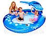 Детский надувной бассейн «Весёлый кит» Intex 57435
