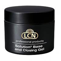 Адгезив-глянец для ногтей LCN Base & Closing Gel Solution 2