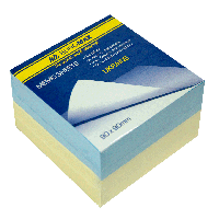 """Блок бумаги для заметок Блок бумаги для заметок """"Украина"""" 90х90х60л., склеенный Buromax BM.2287 (BM.2287 x 128782)"""