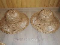 Шляпа соломенная  (рогоз). Брыль., фото 1