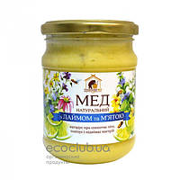 Мед с лаймом и мятой Пасека Правильный мед 350г