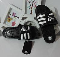 Сланцы мужские массажные шлепки Adidas Santiossage, реплика