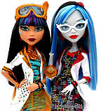 Monster High Mad Science Cleo De Nile & Ghoulia Yelps, фото 2