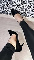 Туфли лодочки черные, фото 1
