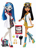 Monster High Mad Science Cleo De Nile & Ghoulia Yelps
