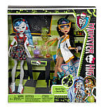 Monster High Mad Science Cleo De Nile & Ghoulia Yelps, фото 4