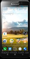 "Смартфон Lenovo P780, дисплей 5"", Android 4.2, камера 8 Мп, 4000 mAh, 2 SIM, 4-х ядерный процессор 1.2 ГГц, фото 1"