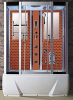 Гідробокс Badico DO578J 85х150х210 (Оранжевий барокко) + джакузі
