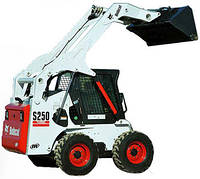 Bobcat s250 услуги экскаватора погрузчика гидромолота