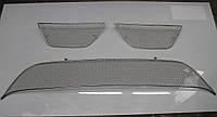 Накладка на решетку радиатора для Mitsubishi Outlander XL