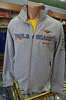 10-в стиле-PAUL i SHARK -серый Мужской Спортивный Костюм, фото 1