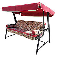 Качель- диван садовая с тентом Spring-Swing San-Marino
