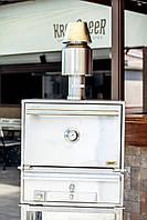 Печь для ресторана с ребристой решеткой на древесном угле BQM-2
