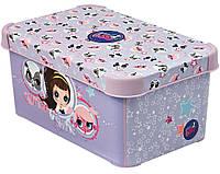 Ящик для хранения детский Little Pet Shop S, Curver 210631
