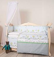 Детская постель Twins Eco Line Village 6 ел, фото 1
