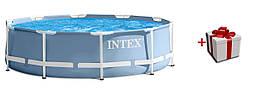 Круглый каркасный бассейн Intex 28710 366*76см
