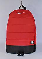 Рюкзак большой Nike Aire ( Найк) красный текстильный