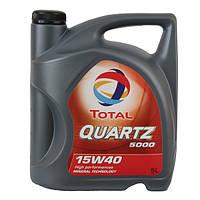 Моторное масло Total QUARTZ 5000 15w40 5л.