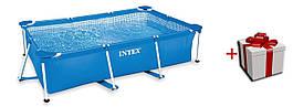 Intex 28270 прямоугольный каркасный бассейн 150*220*60
