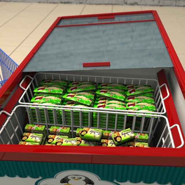Корзины для холодильных ларей