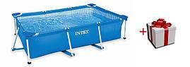 Intex 28271  прямоугольный каркасный бассейн 260*160*65 см