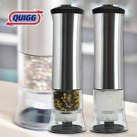 Измельчитель для соли и перца QUIGG с керамическими жерновами