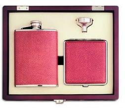 Подарочный набор портсигар, фляга, лейка, Cantale