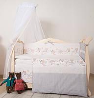 Детская постель Twins Eco Line Nice day 6 ел beige, фото 1
