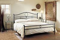 Кованая кровать итальянской фабрики Cantori. С изножьем. Реплика., фото 1