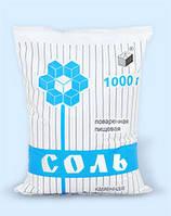Соль каменная фас. в п/э пакет по 1 кг