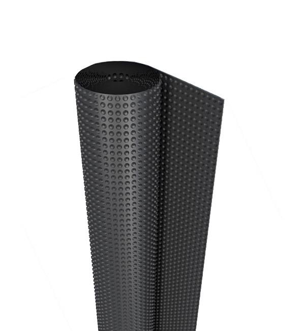 Профилированная мембрана Изолит Profi 1000г./м.кв. 12,5х2м. Geo 20