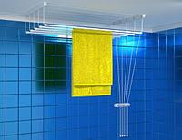 Сушка для одежды Brenda алюминевая потолочная 5 прутьев 1.4 м (Br.1.40)