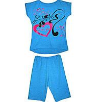Детский комплект майка и шорты Кисонька