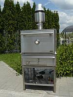 Закрытая печь на углях BQB-1