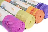 """Коврик для йоги """"ГАНГА"""" 60см*183cм* 6мм, Бодхи (Bodhi), Германия"""